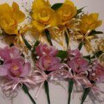 入園、入学式にコサージュを生花で。
