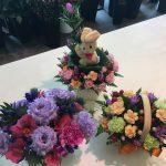 敬老の日 おじいちゃんおばあちゃんにお花を!