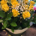 プレゼント用の「バラの花束」