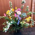 2020年 初のアレンジメント教室!春の花満載!